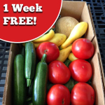 1 week free produce delivery