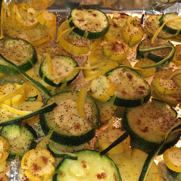 how to cook small round yellow squash